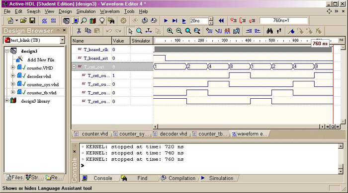 Perform an RTL Functional Simulation